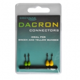 NEW DRENNAN DACRON CONNECTORS