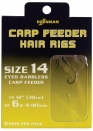 DRENNAN BARBLESS CARP FEEDER HAIR RIGS