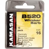 KAMASAN B520 WHISKER BARB HOOK