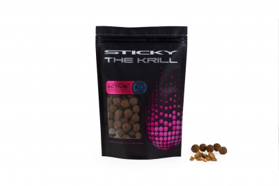 STICKY BAITS KRILL ACTIVE FROZEN BOILIES