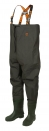 FOX LIGHTWEIGHT GREEN CHEST WADERS
