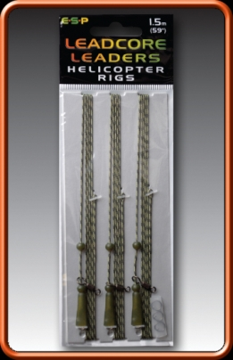 ESP LEADCORE LEADERS HELICOPTER RIGS